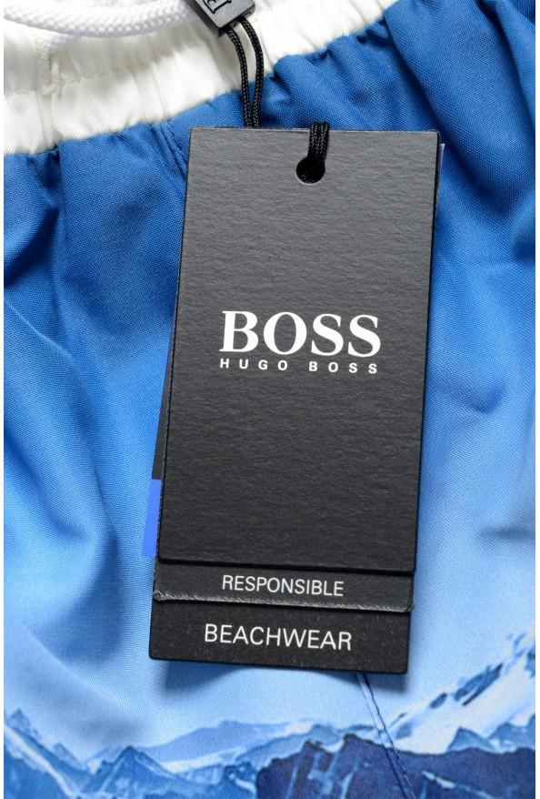 """Hugo Boss Men's """"Springfish"""" Multi-Color Swim Board Shorts: Picture 4"""