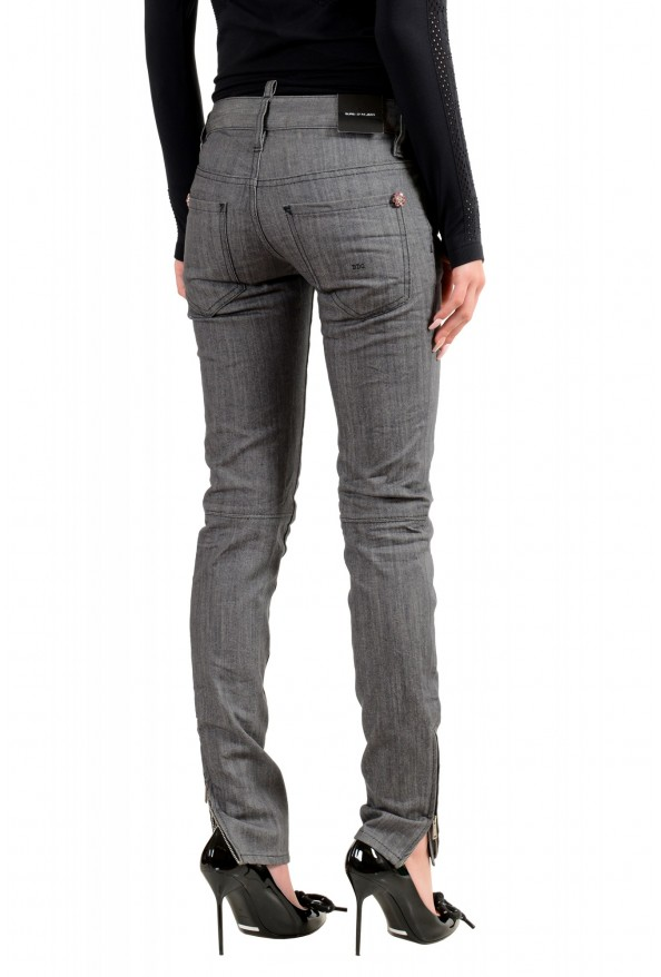 """Dsquared2 Women's """"Super Slim Jean"""" Gray Wash Jeans: Picture 3"""