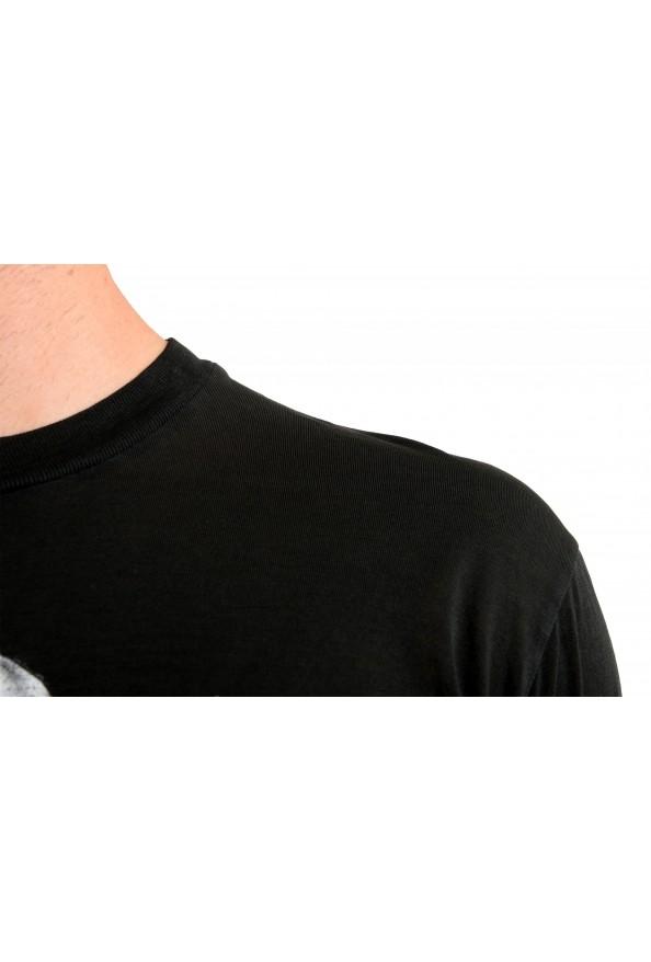 Dsquared2 Men's Black Graphic Crewneck T-Shirt: Picture 4
