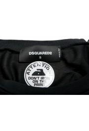 Dsquared2 Men's Black Graphic Crewneck T-Shirt: Picture 5