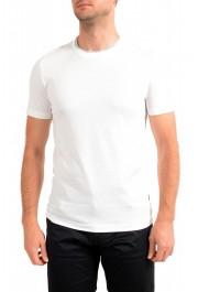 """Hugo Boss Men's """"Tessier128"""" White Crewneck T-Shirt"""