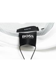 """Hugo Boss Men's """"Tessier128"""" White Crewneck T-Shirt: Picture 5"""