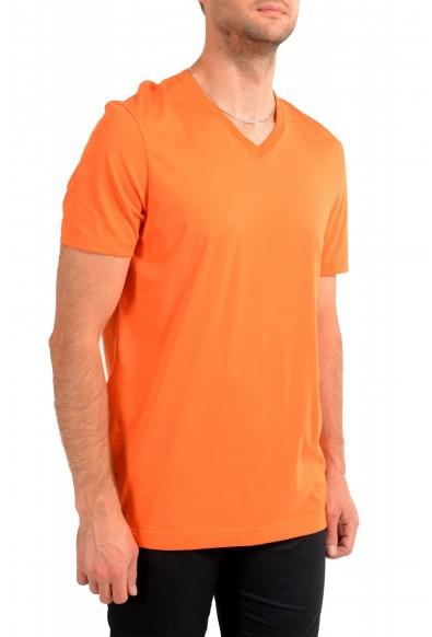 """Hugo Boss Men's """"Tilson 55"""" Regular Fit Bright Orange V-Neck T-Shirt: Picture 2"""