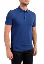 """Hugo Boss Men's """"Plummer 06"""" Slim Fit Blue Short Sleeve Polo Shirt: Picture 2"""