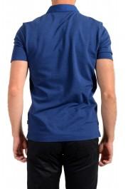 """Hugo Boss Men's """"Plummer 06"""" Slim Fit Blue Short Sleeve Polo Shirt: Picture 3"""
