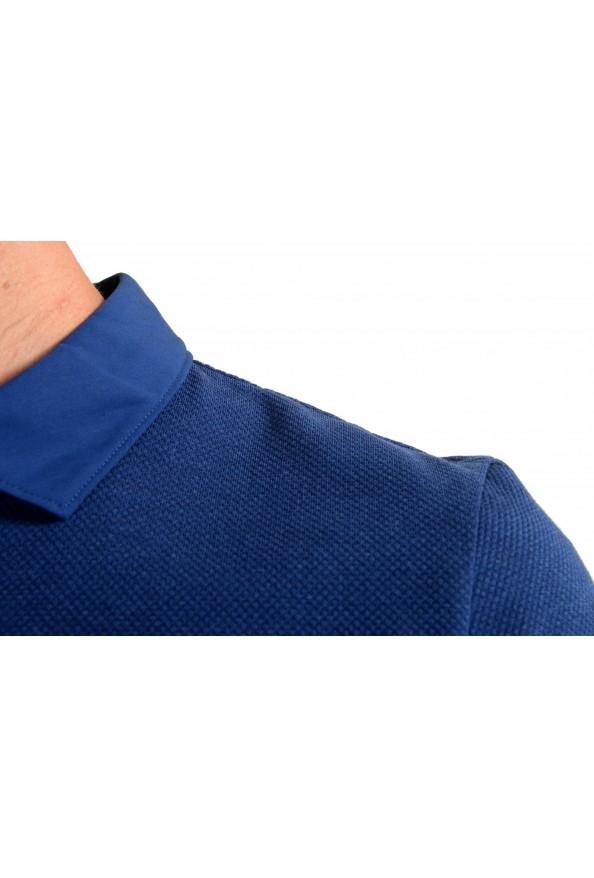 """Hugo Boss Men's """"Plummer 06"""" Slim Fit Blue Short Sleeve Polo Shirt: Picture 4"""