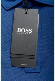 """Hugo Boss Men's """"Plummer 06"""" Slim Fit Blue Short Sleeve Polo Shirt: Picture 6"""
