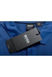 """Hugo Boss Men's """"Plummer 06"""" Slim Fit Blue Short Sleeve Polo Shirt: Picture 7"""