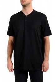 """Hugo Boss Men's """"Denots202"""" Regular Fit Black Crewneck T-Shirt"""
