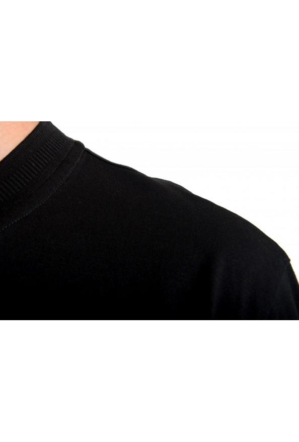 """Hugo Boss Men's """"Denots202"""" Regular Fit Black Crewneck T-Shirt: Picture 4"""