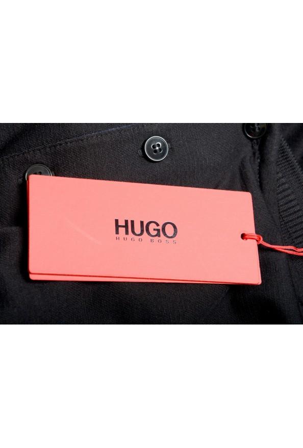 """Hugo Boss Men's """"Denots202"""" Regular Fit Black Crewneck T-Shirt: Picture 6"""