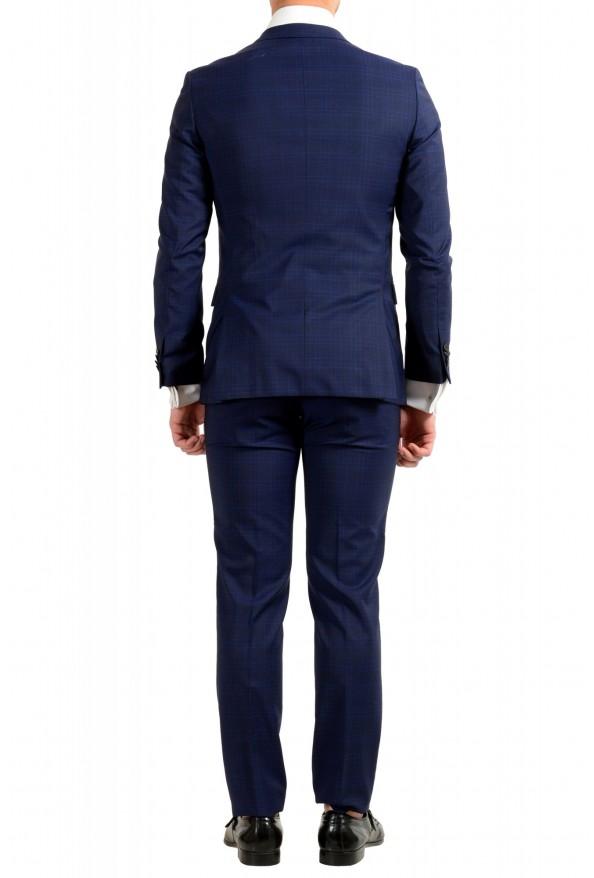 """Hugo Boss Men's """"Novan5/Ben2"""" Slim Fit 100% Wool Plaid Two Button Suit: Picture 3"""