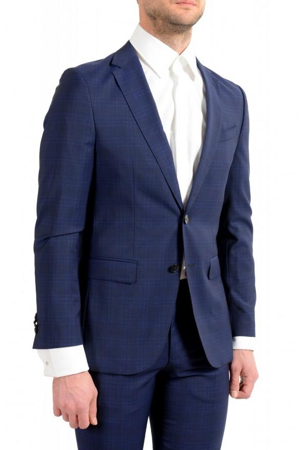 """Hugo Boss Men's """"Novan5/Ben2"""" Slim Fit 100% Wool Plaid Two Button Suit: Picture 5"""