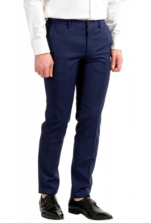 """Hugo Boss Men's """"Novan5/Ben2"""" Slim Fit 100% Wool Plaid Two Button Suit: Picture 9"""