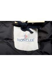"""Moncler Women's """"VENT"""" Black Fur Trimmed Down Parka Jacket: Picture 5"""