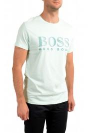 """Hugo Boss Men's """"T-Shirt RN"""" Light Green Crewneck T-Shirt: Picture 2"""