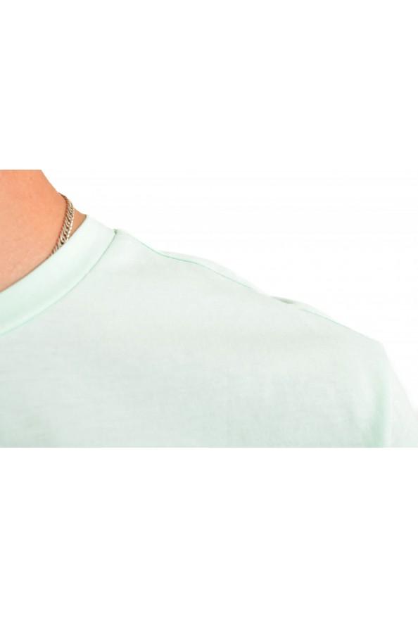 """Hugo Boss Men's """"T-Shirt RN"""" Light Green Crewneck T-Shirt: Picture 4"""