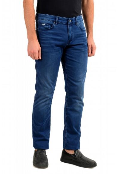 """Hugo Boss Men's """"Delaware3"""" Slim Fit Blue Straight Leg Jeans : Picture 2"""