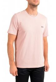 """Hugo Boss Men's """"Mix&Match"""" Light Pink Stretch Crewneck T-Shirt: Picture 2"""