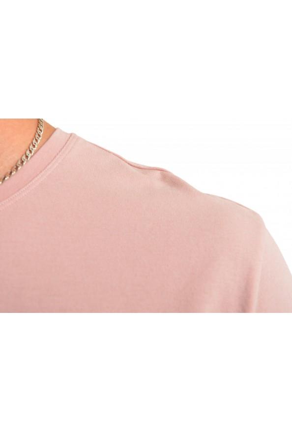 """Hugo Boss Men's """"Mix&Match"""" Light Pink Stretch Crewneck T-Shirt: Picture 4"""