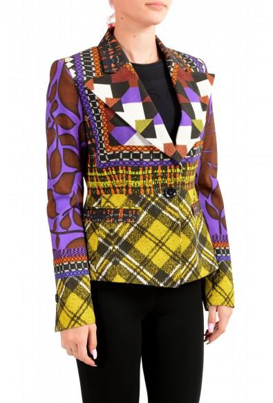 Just Cavalli Women's Multi-Color One Button Blazer : Picture 2