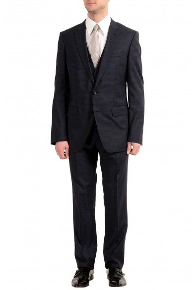 """Hugo Boss """"Huge6/Genius4WE"""" Men's 100% Wool Three-Piece Suit"""