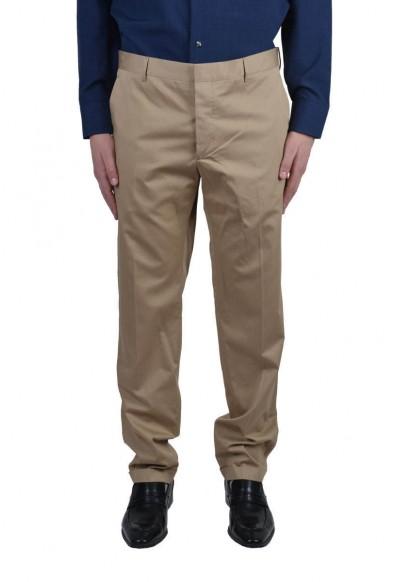 Prada Men's Beige Dress Pants