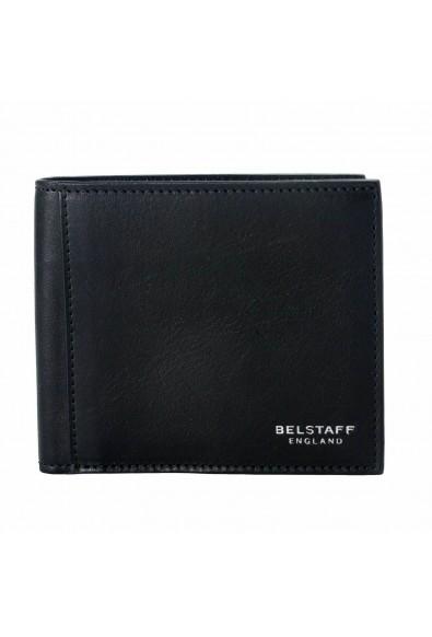 Belstaff London 100% Leather Men's Black Bifold Wallet