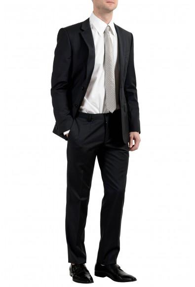 """Hugo Boss """"Huge4/Genius3"""" Men's 100% Wool Dark Gray Two Button Suit: Picture 2"""