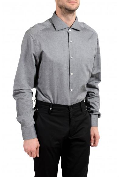 """Hugo Boss """"T-Steven"""" Men's Slim Gray Long Sleeve Dress Shirt: Picture 2"""