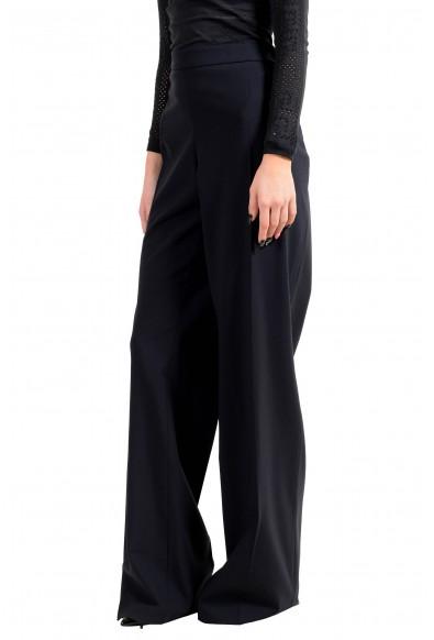 """Hugo Boss Women's """"Tulea_SideZip"""" Blue Wool Dress Pants: Picture 2"""