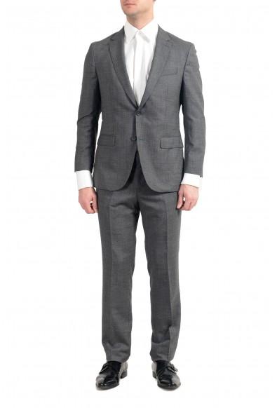 """Hugo Boss """"Novan6/Ben2"""" Men's 100% Wool Slim Gray Two Button Suit"""