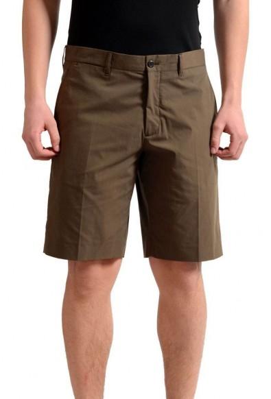 Prada Men's Dark Brown Casual Shorts