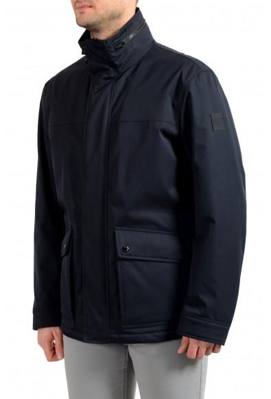 """Hugo Boss Men's """"Cemos"""" Blue Windbreaker Full Zip Jacket Coat: Picture 2"""