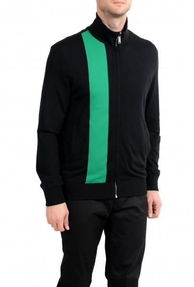 Versace Men's Wool Reversible Full Zip Windbreaker Jacket : Picture 2