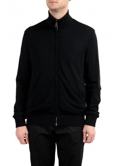 Versace Men's Graphic Wool Full Zip Reversible Bomber Windbreaker Jacket: Picture 2