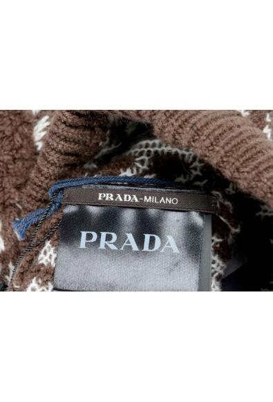 Prada Unisex 100% Cashmere Multi-Color Beanie Hat: Picture 2