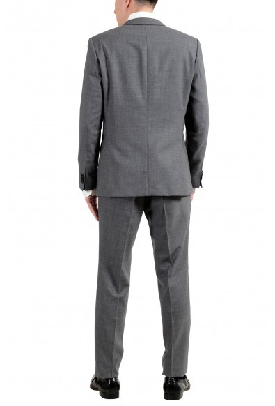 """Hugo Boss """"Novan5/Ben2"""" Men's 100% Wool Gray Slim Two Button Suit: Picture 2"""