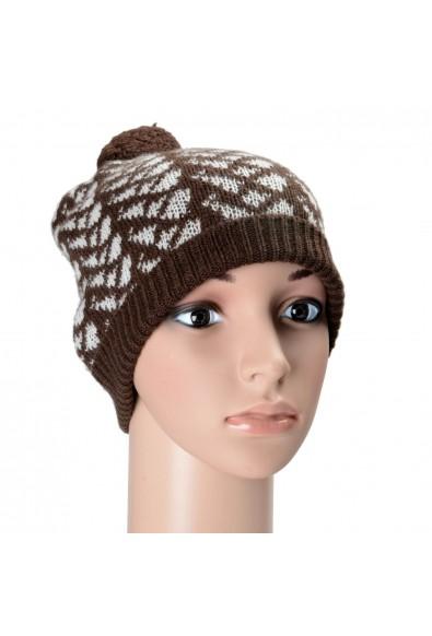 Prada Unisex 100% Cashmere Multi-Color Beanie Hat