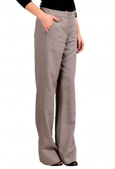Maison Margiela 1 Women's Beige 100% Wool Dress Pants : Picture 2