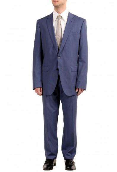 """Hugo Boss """"Huge6/Genius5WE"""" Men's 100% Wool Slim Two Button Suit"""