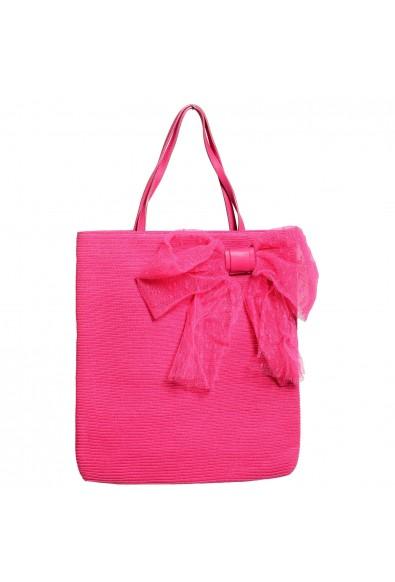 Red Valentino Women's Pink Tote Handbag Shoulder Bag