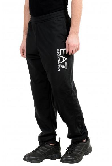 """Emporio Armani EA7 """"Train Big"""" Men's Black Track Sweat Pants: Picture 2"""