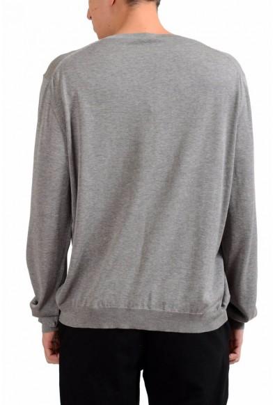 Malo Men's Gray Crewneck Light Pullover Sweater: Picture 2
