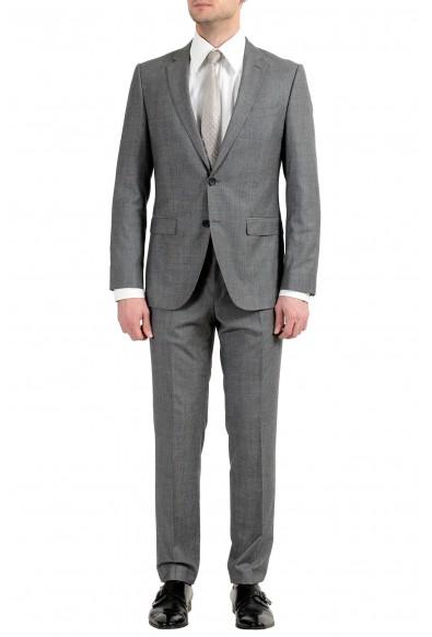 """Hugo Boss """"Novan4/Ben2"""" Men's Wool Gray Two Button Suit"""