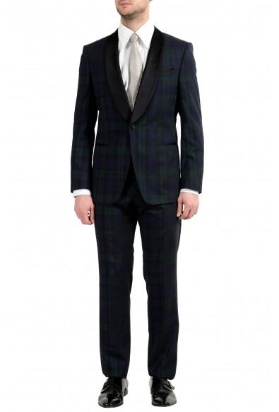 """Hugo Boss """"Herwyn/Gewon"""" Men's 100% Wool Slim One Button Suit"""