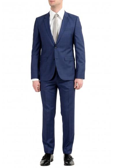 """Hugo Boss """"Astian/Hets"""" Men's Wool Blue Two Button Suit"""