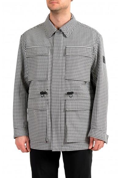 """Hugo Boss Men's """"Cedas"""" Multi-Color Zip UP """"Field Jacket"""" Coat"""