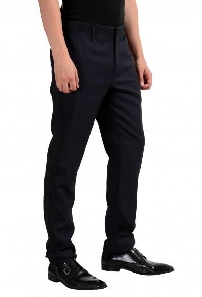 Marc Jacobs Men's Navy Blue Linen Dress Pants: Picture 2