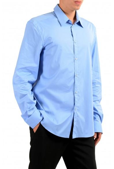 Versace Men's Light Blue Long Sleeve Dress Shirt : Picture 2